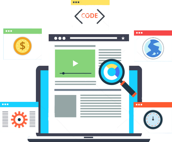 Website Design, Coding and Speed Optimization