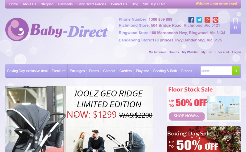 Baby Direct Case Study