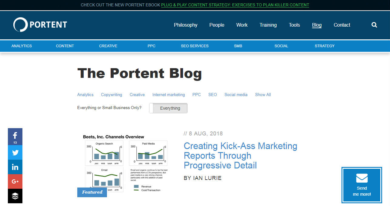 Portent Business Blog