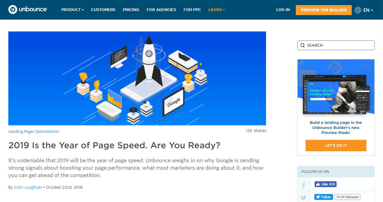 Unbounce Business Blog